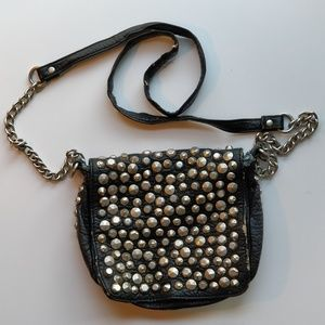 Free People Punk Goth Inspired Purse